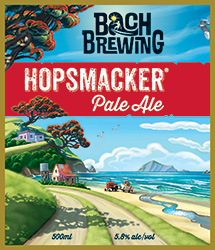 Bach Brewing Hopsmacker Label