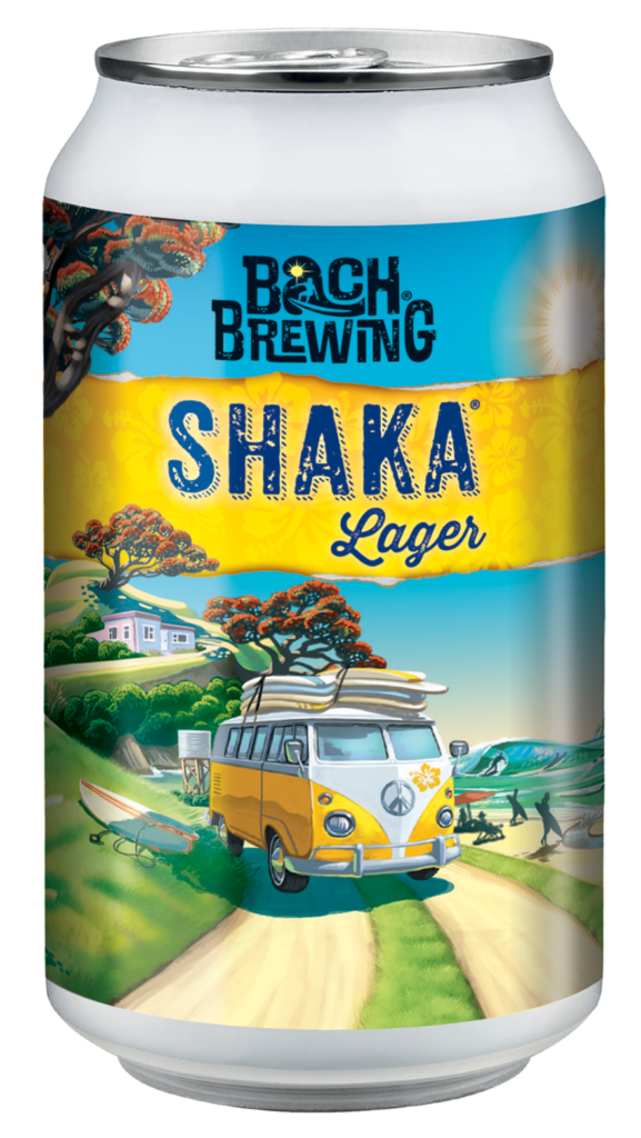 Shaka Lager 330ml can